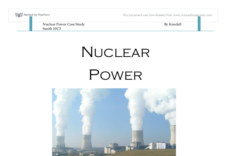 threat of nuclear weapon maintains world peace cheap and clean energy