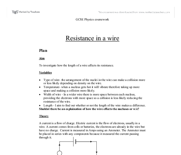 how does the length of a wire affect its resistance
