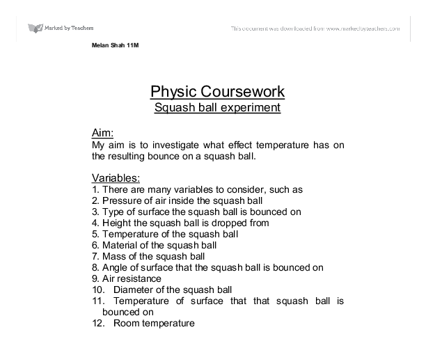 physics coursework resistance of a wire method Extended experimental investigation: electricity  if the length of a wire is increased then its resistance will increase if its cross-sectional  method  wire .