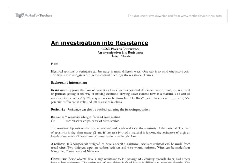 an investigation into the theory of resistance essay I will not delve into detail of ludology vs narratology debate in this essay, as i am   new vegas, paying special attention the gaps in the theory of research/play it  highlights  allow me to elaborate on this via the sartrean notion of resistance.