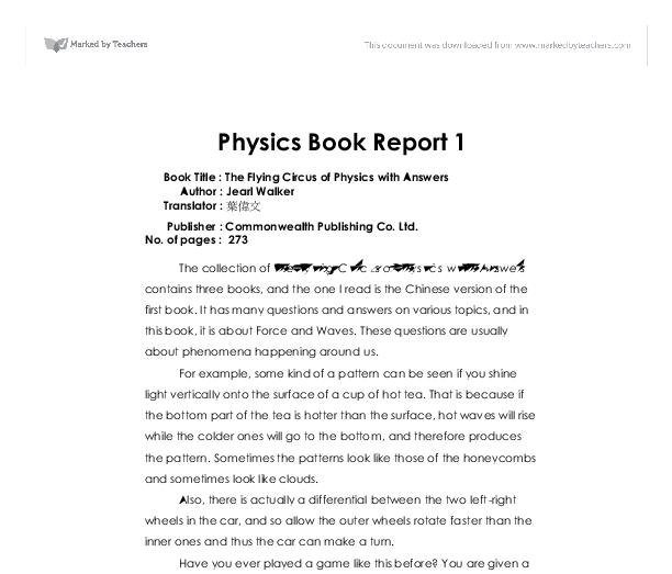 sydney physics thesis reports free download
