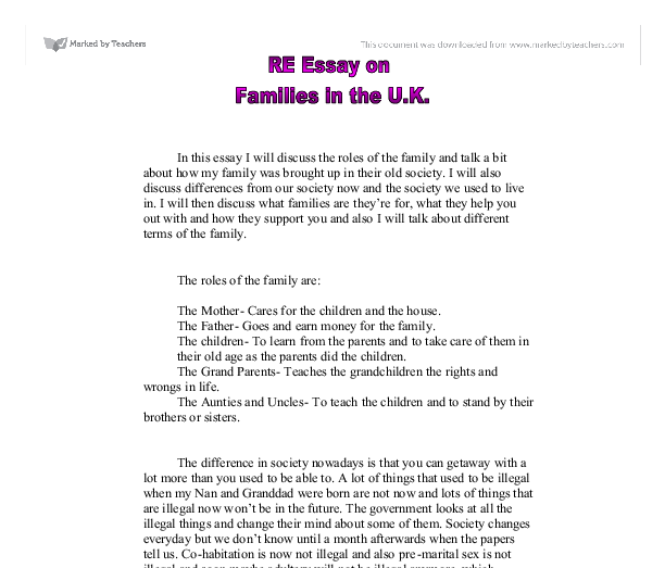 role of the teacher essay