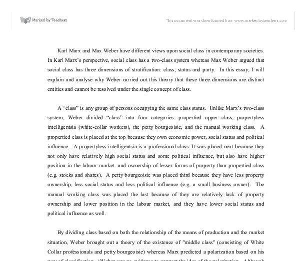 The Vietnam War Essay Document Image Preview Last Year Of High School Essay also Organ Donation Essay Karl Marx And Max Weber Have Different Views Upon Social Class In  Persuasive Essay On Adoption