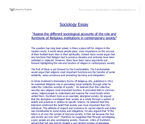 religion and peace hsc essay Religions promote peace and divisions on the basis of religious beliefs violate the original intent of the religions a generous god should provide more ways to reach him and moreover, actions speak louder than words to do good deeds and live an exemplary life should have more weight than to proclaim.