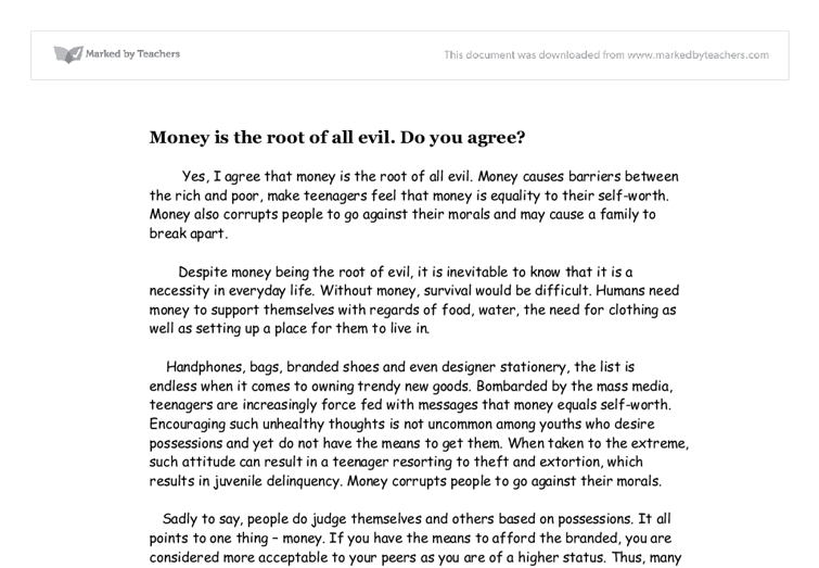 reflexive essay on greed is a great evil Homepage writing samples  academic writing samples  essay samples  reflective essay samples  money 08 aug '18 976 5/5 money  i cannot contend that money is the root of evil rather, i would state that greed is the foundation of wrongdoing  what is a good thesis statement against euthanasia asked by anonymous.