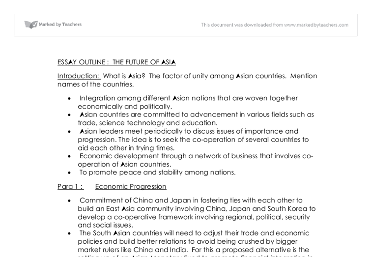 essay on china economy