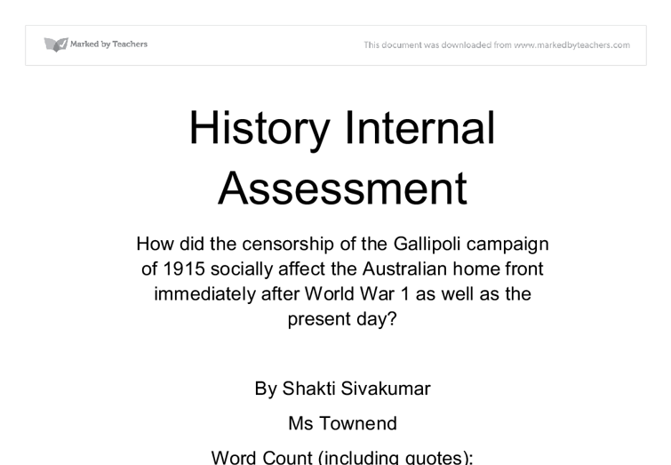 document image preview - History Extended Essay Example