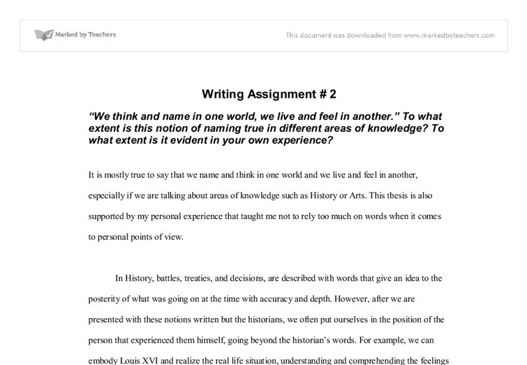 Custom homework writing ib