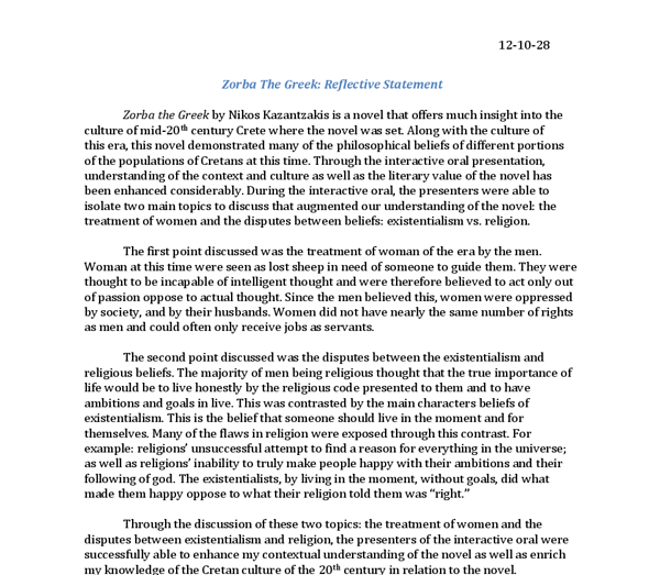 world literature 1 essay Genesis essay violence and conflict in genesis and antigone  the origin of the world in the book of genesis essay  looking deeper into the literature, one.