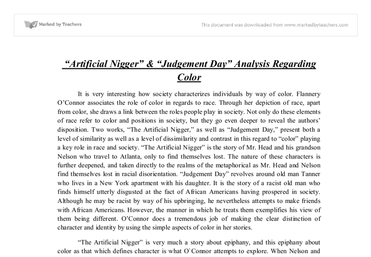 "the word nigger essay Is it okay to use the word ""negro"" in a paper if it is in a quote nigger-lover is just one of those terms that don't mean anything—like snot-nose."
