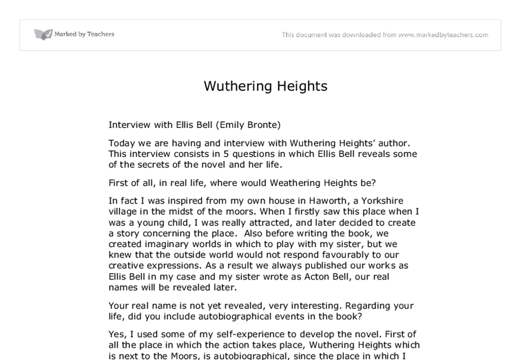 victimization in wuthering heights essay College application essay rubric wuthering heights essays phd who or what does heathcliff represent in wuthering heights is he a force of evil or a victim of.