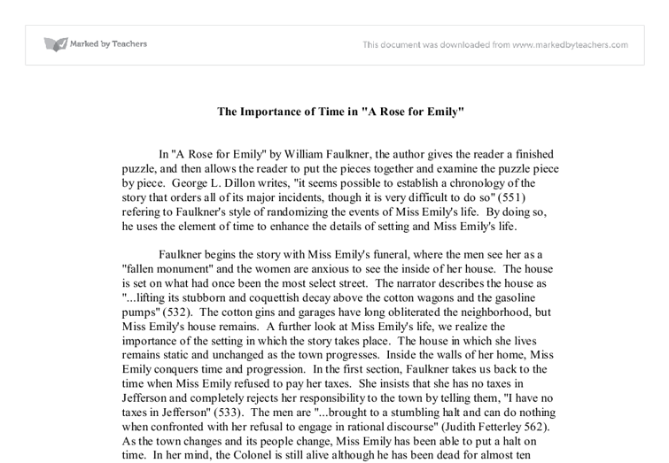 Essay on value of time in students life