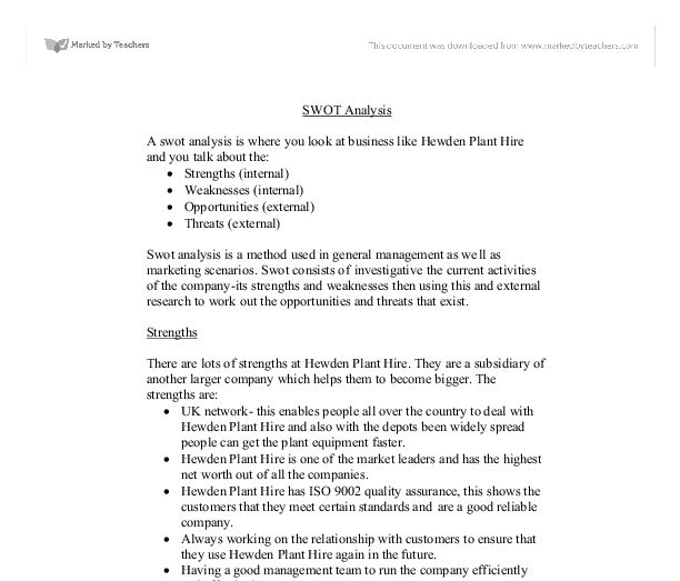 Nike business analysis essay – Example of a Swot Analysis Paper