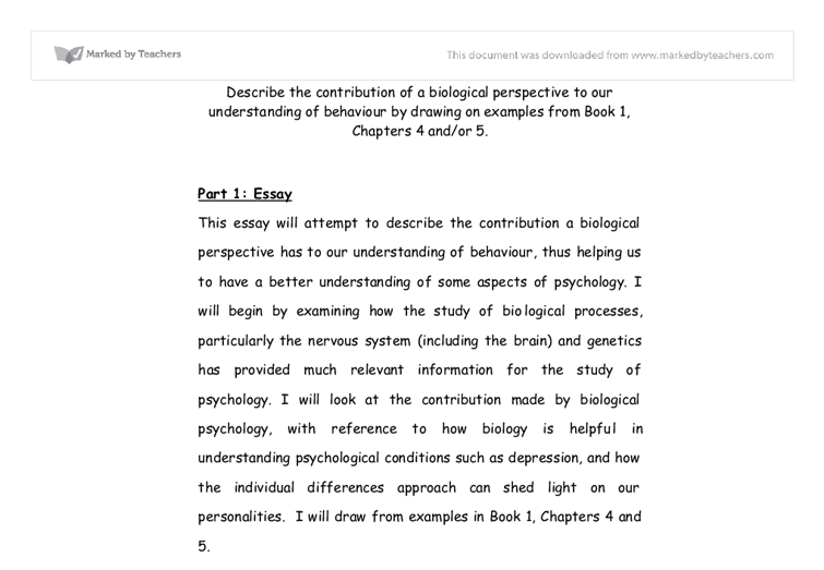 cognitive approach psychology essay example Free essay: the behaviorist and cognitive approaches to psychology in this essay i am going to explore two of the major approaches to psychology, cognitive.