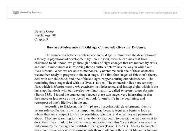 atheism and adolescent identity essay Identity development during adolescence and develop a 2 page handout of key points for a formal group high school guidance counselors.
