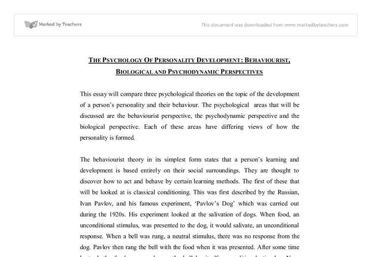 Essay Science And Religion Document Image Preview Comparative Essay Thesis Statement also Topics English Essay The Psychology Of Personality Development Behaviourist Biological  Thesis Statement Examples For Narrative Essays