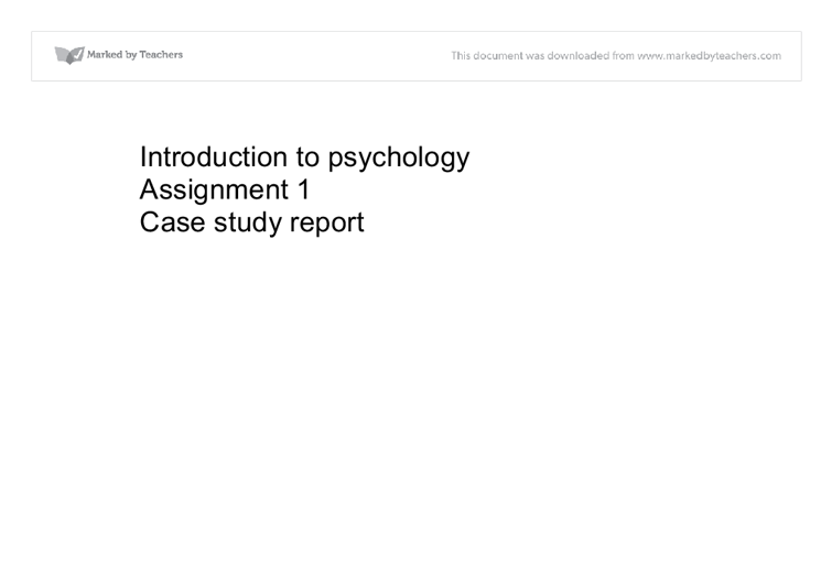 sport psychology case study the goals that the client had set  document image preview