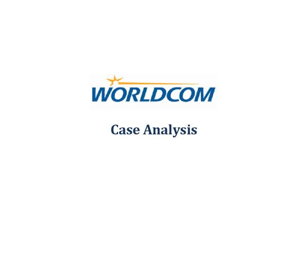 worldcom company case essay In the case of worldcom,  essay on worldcom: a business failure  fraud and worldcom essay the company & situation worldcom was a provider of long distance phone services to businesses and residents.
