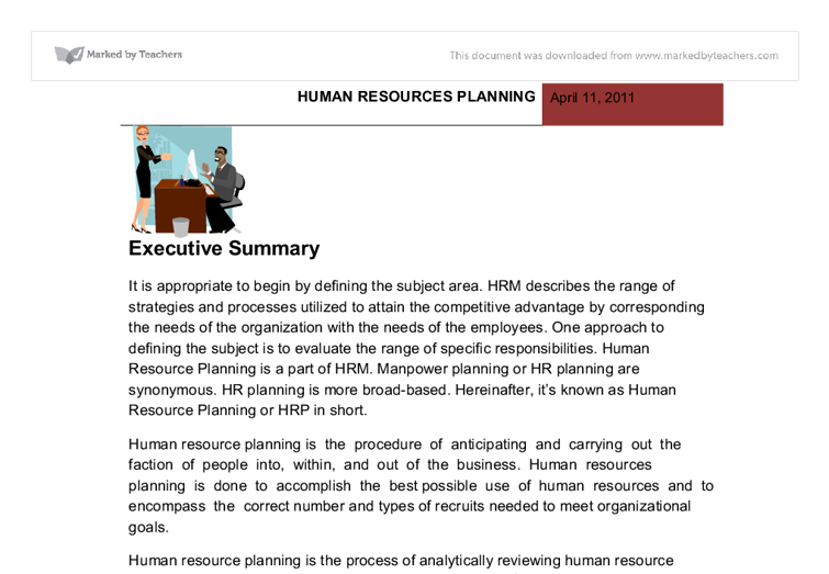 Human Resources universities classes