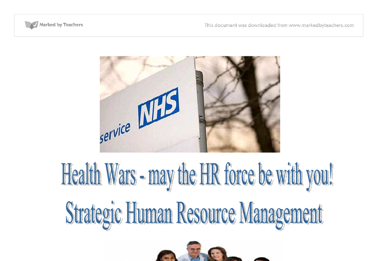 Human Resources free full essays download