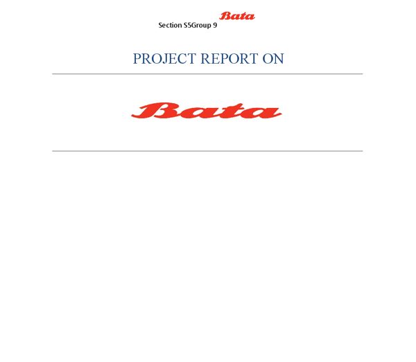 report on bata essay