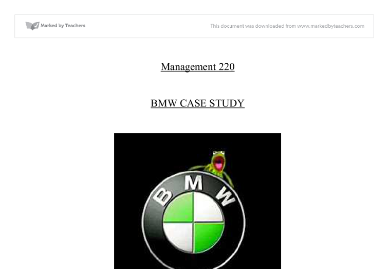 bmw case study analysis Bmw: the 7-series project (a) case solution,bmw: the 7-series project (a) case analysis, bmw: the 7-series project (a) case study solution, introduction: the bmw.