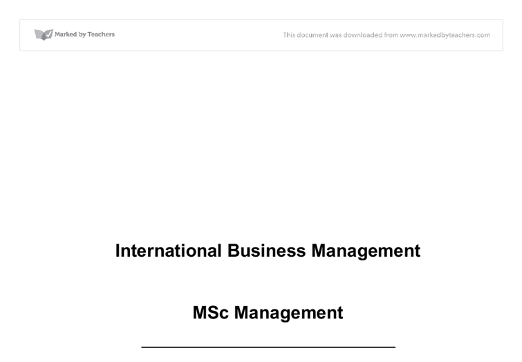 International Relations hardest business majors