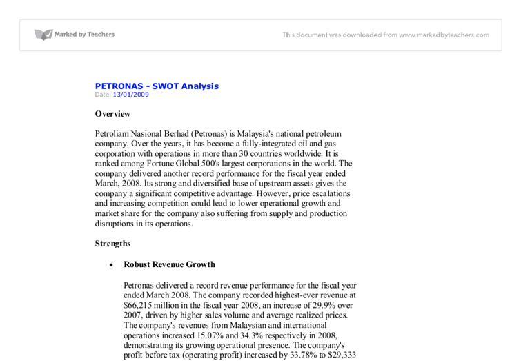 swot analysis of petronas Download : petronas swot analysis petronas swot analysis - in this site isn`t the same as a solution manual you buy in a book store or download off the web.