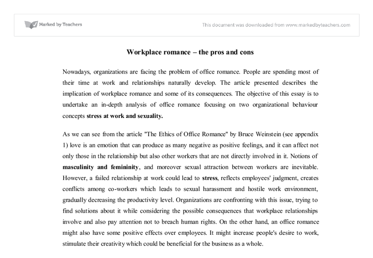 workplace r ce the pros and cons university business and  document image preview