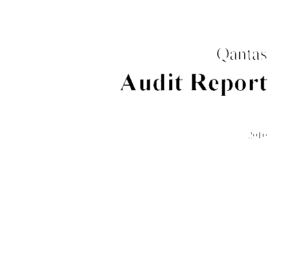 adaptation strategy of qantas airways pdf