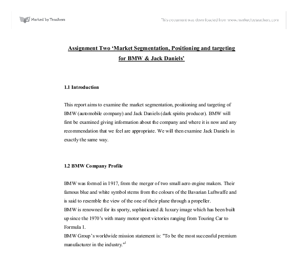 thorntons strategic position essay