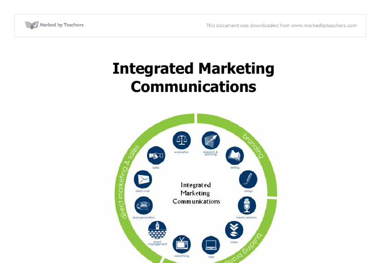 easyjet intergrated marketing communications Summary overview direct marketing is a form of integrated marketing communications whereby an organization communicates directly with target customers to generate a response and/or transaction.