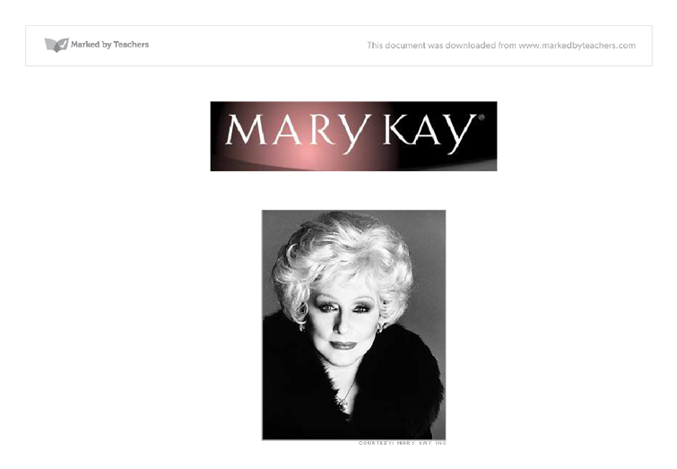 mary kay asian market entry Click on a market name to view contact information and website links global growth quick facts mary kay® products are sold in more than 35 markets worldwide, and.