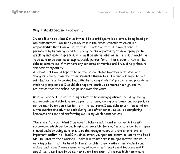 How To Write A Letter For Senior Prefect - Cover Letter Templates
