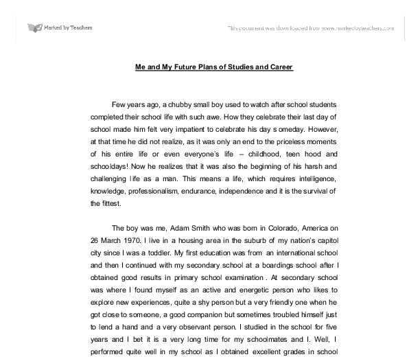future essay introduction