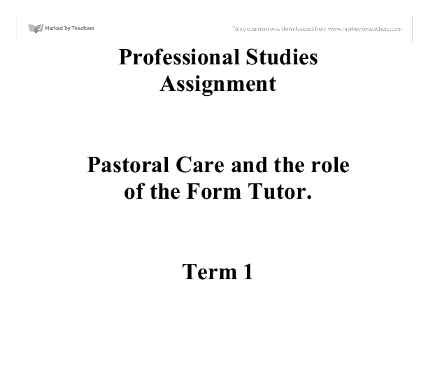 The Role of the eTutor