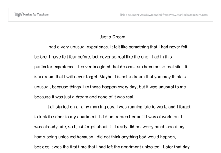 descriptive essay university education and teaching marked by document image preview