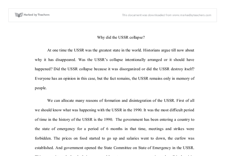 why was the us afraid of ussr essay The united states (usa) vs the world - who would win military / army comparison - duration: 17:42 the infographics show 1,681,238 views.