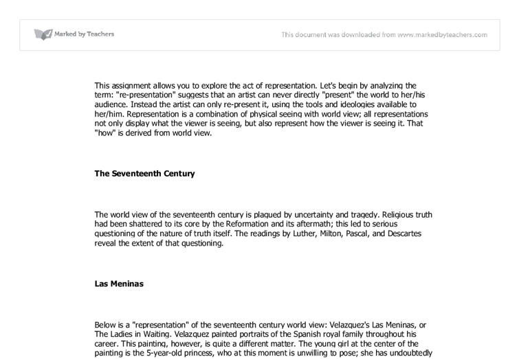 explore the representation essay Notre dame philosophical reviews is an electronic, peer-reviewed journal that publishes timely reviews of scholarly philosophy books resemblance and representation: an essay in the philosophy of pictures // reviews // notre dame philosophical reviews // university of notre dame.