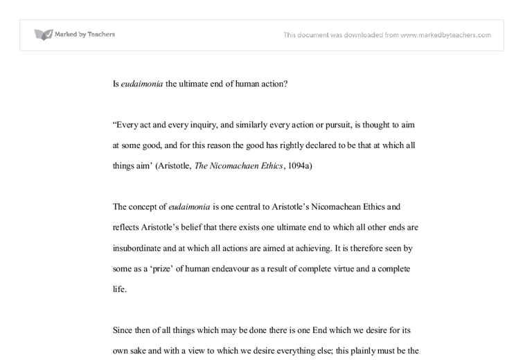 essay on eudaimonia Unlike most editing & proofreading services, we edit for everything: grammar, spelling, punctuation, idea flow, sentence structure, & more get started now.