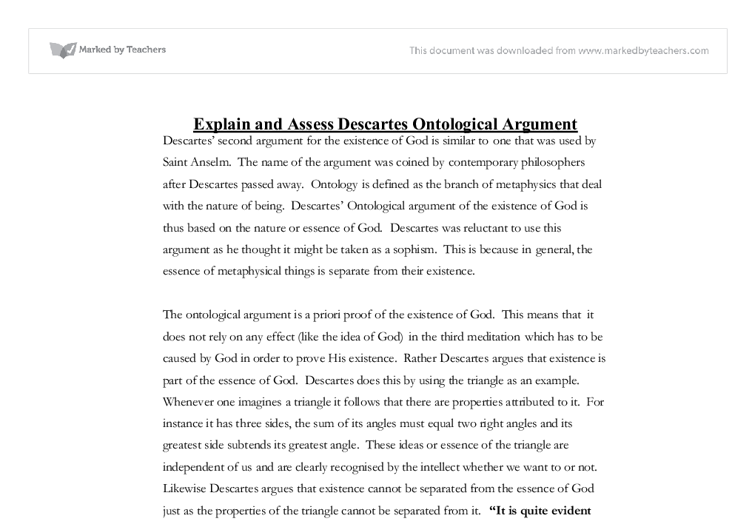 Dualism philosophy essay questions