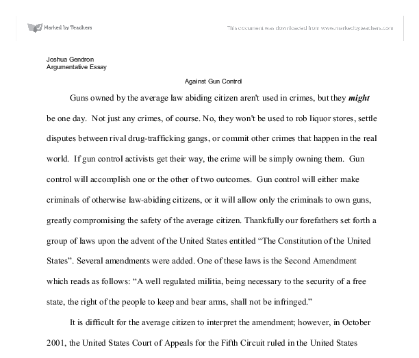 essay on gun laws co essay on gun laws