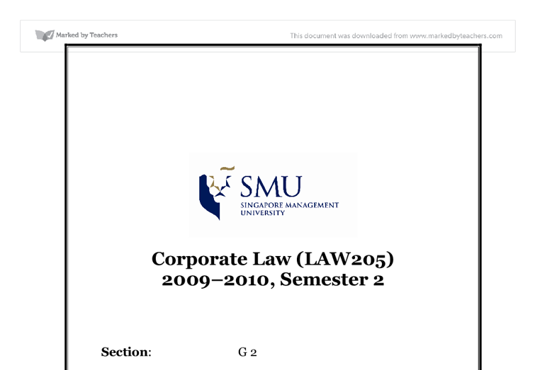 commercial law uni study guides