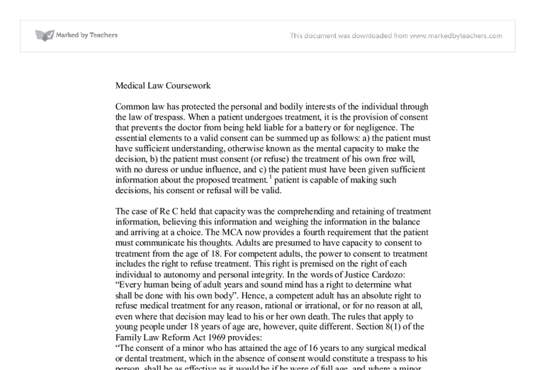 chester v afshar law case review Case law always tended to put too much faith in lord bridge's speech in chester v afshar it implies others have criticised my original commentary in medical law review and, to the best of my knowledge, no one else has done so in print.