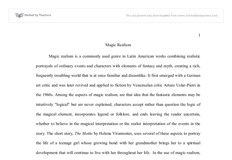 magic realism university linguistics classics and related document image preview