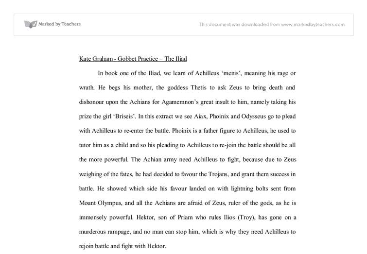a father figure essay example