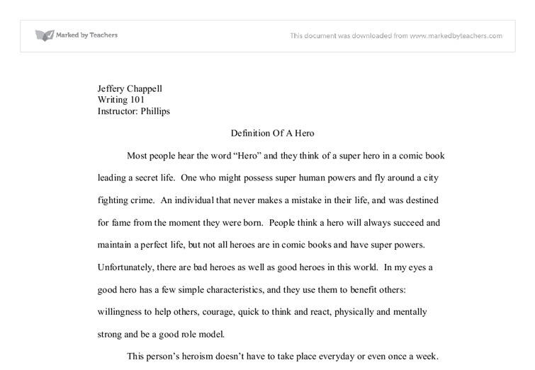 college essay examples psychology