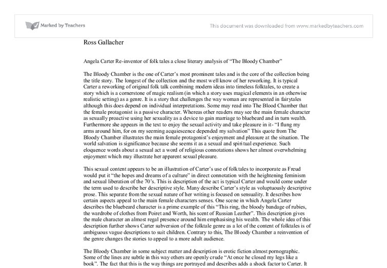 the bloody chamber critical essays