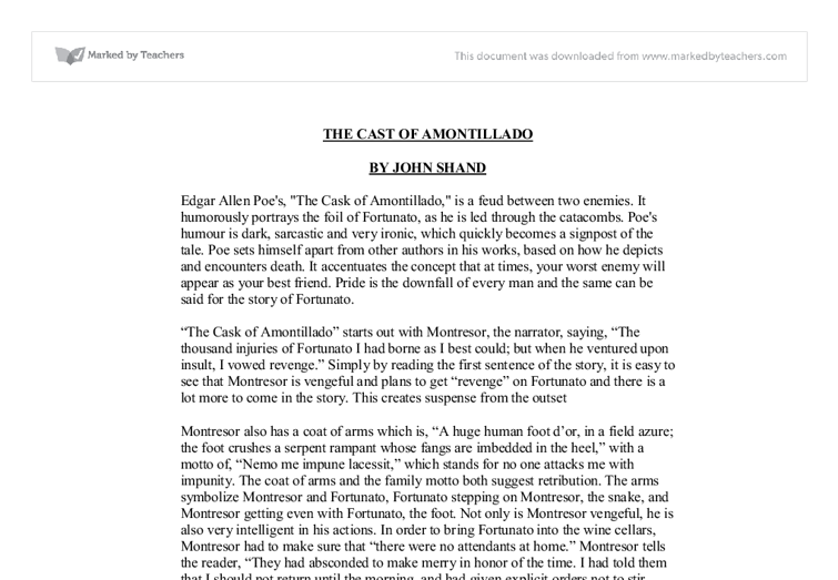 poes essay the philosophy of composition Edgar allan poe is regarded as, among many things, a master of dark fiction his poems and stories chill the blood, even today this short essay written on the life of the famous american poet offers great insight into his life and passions.