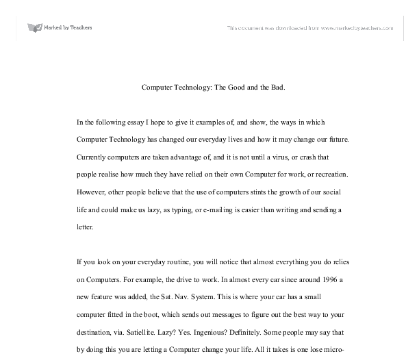 future technology essay